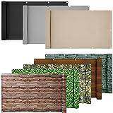 ESTEXO PVC-Balkonsichtschutz, Balkonbespannung, Balkonverkleidung, 6 Meter (0,75 x 6,0 Meter,...