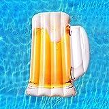 YAUUYA Aufblasbarer Pool Float Schwimmbett Floot Party Spielzeug Kinder Schwimmen Wasser Float Sitz...