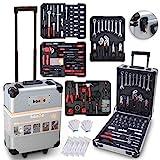 hanSe Werkzeugkoffer Maxi 1050-teilig Werkzeug Trolley gefllt Werkzeugkasten Werkzeugkiste...