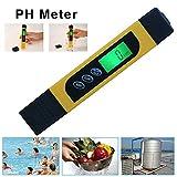 Class.Z PH Messgerät (ATC) Wasserqualität Tester Mit Digitales Hoher Genauigkeit Und LCD Display...