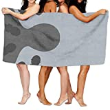 Jianyao Simple Reporter Presenter with Many Mic Microphone Beach Towels Pool&Travel&Bath Towel...