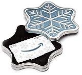 Amazon.de Geschenkkarte in Geschenkbox - 75 EUR (Schneeflocke)