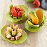 DYX Cut Fruit Tools Multifunktionsmesser Cut Apple Cut Mango Cut Tomatenmesser Home Apple Cut Auf...