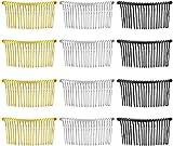 Haarspange Kämme,Zuzer 20pcs Haarkamm Steckkamm Kunststoff Hair Comb Hairpin Clip Accessories für...
