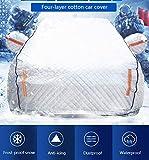 Autoabdeckung Wasserdicht Regen Staub Sonne UV Allwetter-Schutz Mit Baumwollreißverschluss Für...