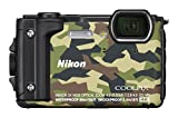Nikon Coolpix W300 Digital Camera Camouflage (16 MP, 5x Optical Zoom/7.6 cm (3 Zoll) LCD Display, 4...