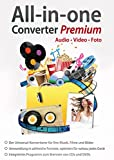 All in One Converter Premium - Video - Audio - Foto - Umwandlung, Bearbeitung, Konvertierung für...