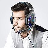 VersionTECH G2000 Gaming-Headset Surround-Stereo-Gaming-Kopfhörer mit geräuschunterdrückendem...