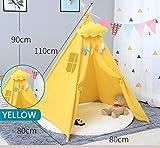 GEATA Teepee for Kids Play Tent Indoor und Outdoor, Kinderspielhaus for Junge Mädchen...