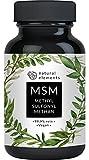 MSM Kapseln - Vergleichssieger 2020* - 365 vegane Kapseln - Laborgeprüft - 1600mg...
