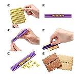 BeautyLife DIY Fondant Werkzeug, Alphabet Buchstaben Anzahl Cookies Keks Torten Gebäck Stempel...
