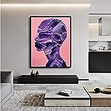 Geiqianjiumai Abstrakte lgemlde abstrakte malerei leinwand malerei druckplakat Bild Familie...