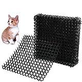 BUYGOO 5pcs Katzen-Abwehrstreifen Tier-Barriere, 385x385cm Katzenabwehr Spikes Tiervertreiber,...