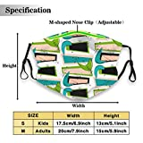 Environmentally friendly masks for protection against dust Boomerangs Space Age 2 Unisex outdoor...