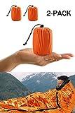 Notfall-Zelt, Biwaksack Survival Schlafsack für Erste Hilfe,Notfall Outdoor Tube Zelt mit...