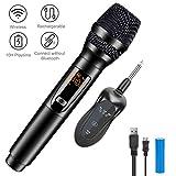Kabelloses Mikrofon, Gifort Mikrofon 10 Kanal UHF Funkmikrofon Handheld Dynamisches Mikrofone mit...