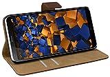 mumbi Tasche Bookstyle Case kompatibel mit LG G6 Hülle Handytasche Case Wallet, braun