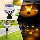 Outdoor Solar Torch Tanzen Lichter Flamme Beleuchtung Led-Blinklichter Wasserdicht Wireless-Licht...