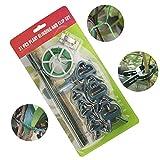AFZON 31 PCS Garden Plant Clips Anpassen des Support Plant Clips für Vine Garden Vegetables...