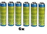 CFH. 6X Universalgas at 2000 Gas 30% Propan und 70% Butan Gaskartusche Druckgasdose 330g 600 ml