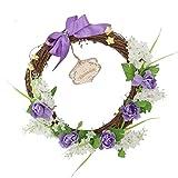 Learnarmy Ramadan Hyazinthenkranz Eid Mubarak Girlande Muslim Islam Künstliche Hängende Blume...