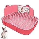 KAMEIOU Toilette für Frettchen Galesaur Meerschweinchen, Kaninchen, Kaninchen, Kaninchen,...