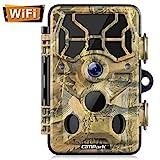 Campark WiFi Wildkamera 20MP 1296P, WLAN mit Bewegungsmelder Nachtsicht Wildlife Jagdkamera,...