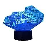 KangYD 3D Nachtlicht Container Trailer Truck, LED Lampe, Atmosphärenlampe, Mädchen Geschenk,...