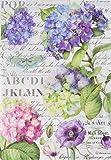 STAMPERIA DFSA4307 A4 Decoupage Reispapier verpackt Hortensien und Libelle, Mehrfarbig, 29.7 x 21