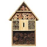 Deuba XXL Insektenhotel Insektenhaus Nistkasten Brutkasten Insekten Bienen Hotel 48 cm