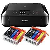 Canon Pixma MG5750 MG-5750 All-in-One Farbtintenstrahl-Multifunktionsgerät (Drucker, Scanner,...
