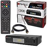 Kabel Receiver Kabelreceiver - DVB-C HB-DIGITAL Set: Opticum HD C200 Receiver fr digitales...