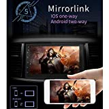 Ljourney Auto GPS Navigation Auto MP5 Player, 8.1 System 16G Speicher 7IN Touch Button HD Auto...