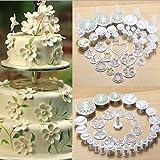 Dyyicun12 Backformen-Set für Kuchen, Cupcakes, Gelee, Küche, 33-teilig