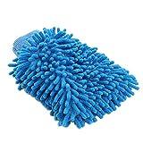 Tding Pretty Mikrofaser-Waschhandschuh, Kratzfest, abwischbar, doppelseitig, Auto-Waschhandschuh...