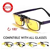 KLIM OTG Brillen Clip on Gläser gegen blaues Licht NEU – Guter Schutz bei der Arbeit am...