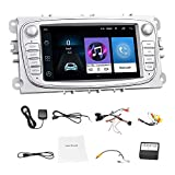 Semoic 7 Zoll Android 8.1 Auto Radio Spieler GPS WiFi MP5 Spieler FM Fit fr Focus Mondeo S-MAX...