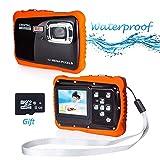 PROACC wasserdichte Kamera für Kinder (bis 3 Meter), Unterwasser Kinderkamera Camcorder HD720p 12MP...