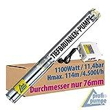 3' Zoll - Brunnenpumpe Tiefbrunnenpumpe Tauchdruckpumpe Rohrpumpe Gartenpumpe Brunnen-Star Die...