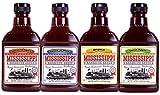 Mississippi - Barbecue-Saucen - 4 x 510g Probierpaket