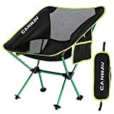 CANWAY Campingstuhl Campingstühle faltbar klappbar tragbar Angel Stuhl Camping Stuhl verstellbar...