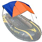 Jihufwejf Wandern am Strand im Freien Tunnel Dome 68351 Folding Markise Kanu Rubber Inflatable Boat...