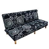 iShine Sofabezug 2 sitzer Ohne armlehnen Stretch Abdeckung Husse Sofa Couch Schonbezug Sofaüberzug...