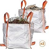Audubert Gartensack, Gartensack, Laubsammler, robust für Garten, Rasenmäher, AST oder Gravat,...