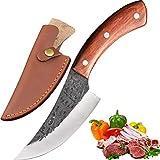 Promithi handgemachte Hackmesser Kochmesser Kchenmesser metzgermesser Ausbeinmesser mit Mantel,...