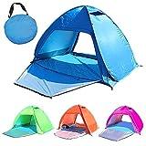 Eanpet Strandzelt Pop-Up-Sonnenschutz für 2 Personen – UV-Schutz Outdoor Camping Angelzelt mit...