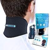 Sports Laboratory Nackenbandage gegen Nackenschmerzen mit Magneten & Turmalin selbstwärmend...