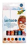 Face Paint Schminkstifte Wild, 6 farbig sortierte Stifte für Kinder, dermatologisch getestet,...