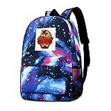 Galaxy Printed Shoulders Bag Gorons Ruby Rock Candy Legend of Zelda Fashion Casual Star Sky Backpack...