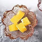 Mzhch jar Cherry Blossom Kleine Schale 4 Stück Sojasoße Dish japanischen Snack Glasteller Kreative...